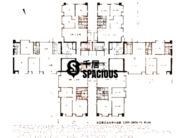 Mid Levels Central - Excelsior Court Floor Plan 04