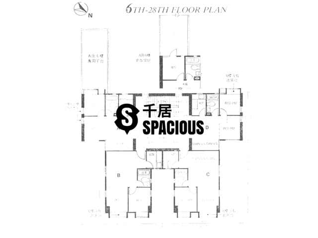 Mid Levels Central - Jadestone Court Floor Plan 01