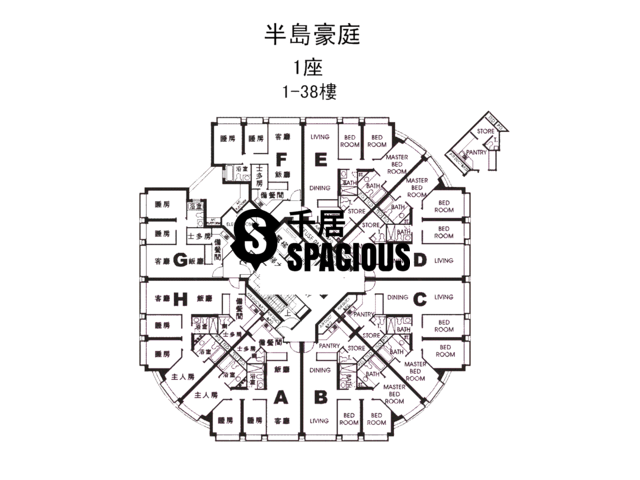 Hung Hom - Royal Peninsula Floor Plan 08