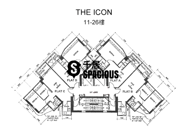 Mid Levels Central - The icon Floor Plan 02