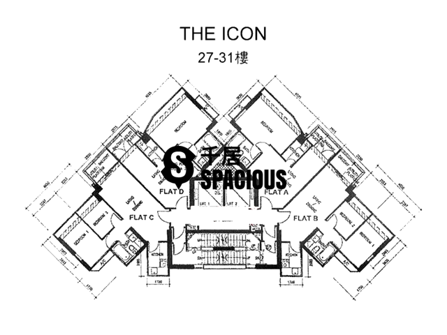 Mid Levels Central - The icon Floor Plan 01