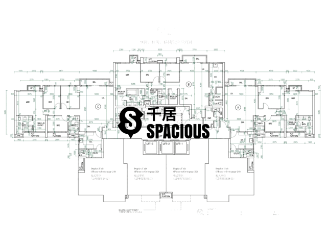 Mid Levels Central - The Morgan Floor Plan 01