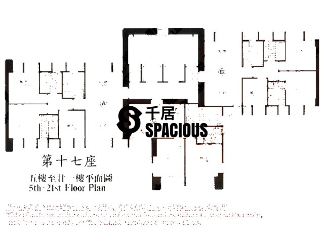 Kwai Chung - WONDERLAND VILLAS Floor Plan 05
