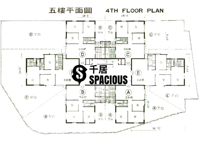 Mid Levels Central - Caine Mansion Floor Plan 03
