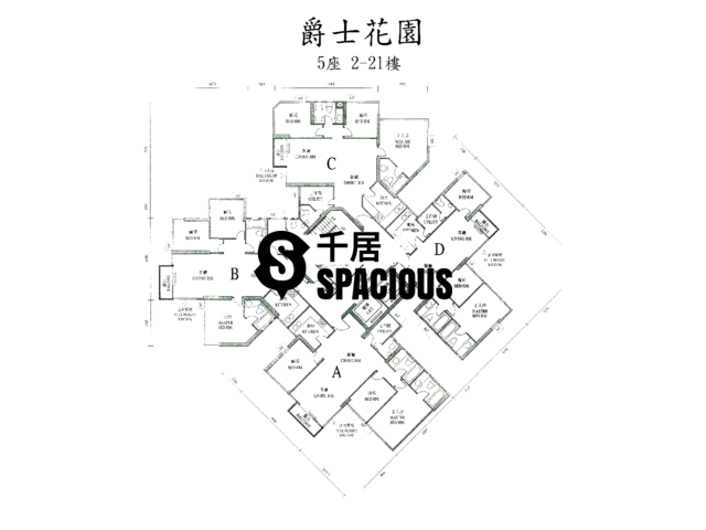 Yau Ma Tei - The Regalia Floor Plan 08