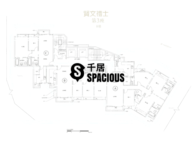 Kowloon Tong - Parc Inverness Floor Plan 34
