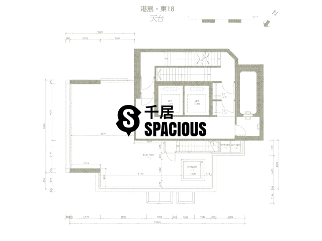 Sai Wan Ho - 18 Upper East Floor Plan 02
