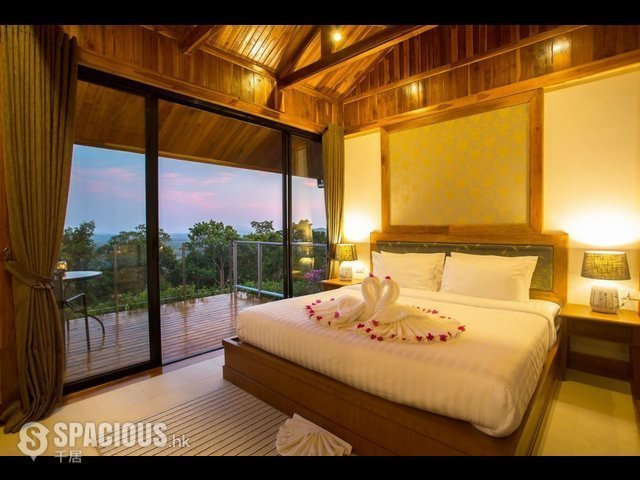 普吉岛 - PHA6001: Exclusive Villa with panoramic Views of sunrise, sunset and the Andaman sea 12