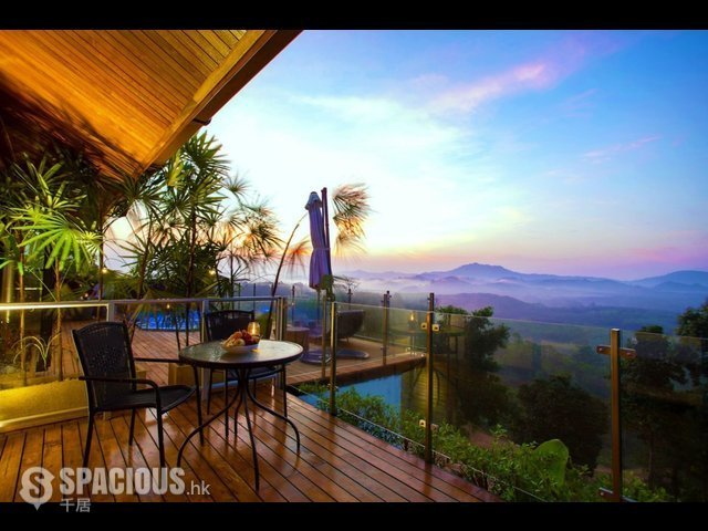 普吉岛 - PHA6001: Exclusive Villa with panoramic Views of sunrise, sunset and the Andaman sea 14