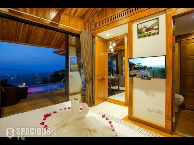 Phuket - PHA6001: Exclusive Villa with panoramic Views of sunrise, sunset and the Andaman sea 18