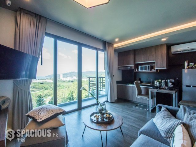Phuket - KAR5973: Charming Apartment with Mountain View in Karon 22