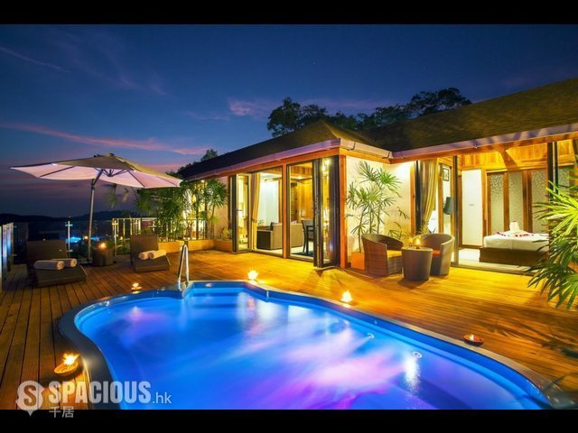 Phuket - PHA6001: Exclusive Villa with panoramic Views of sunrise, sunset and the Andaman sea 23