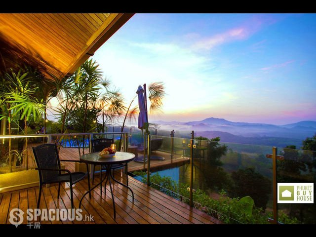 普吉岛 - PHA6001: Exclusive Villa with panoramic Views of sunrise, sunset and the Andaman sea 25
