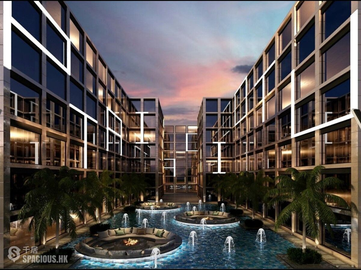 Phuket - NAI6304: New Apartments With Unique Design in Nai Harn Beach 01