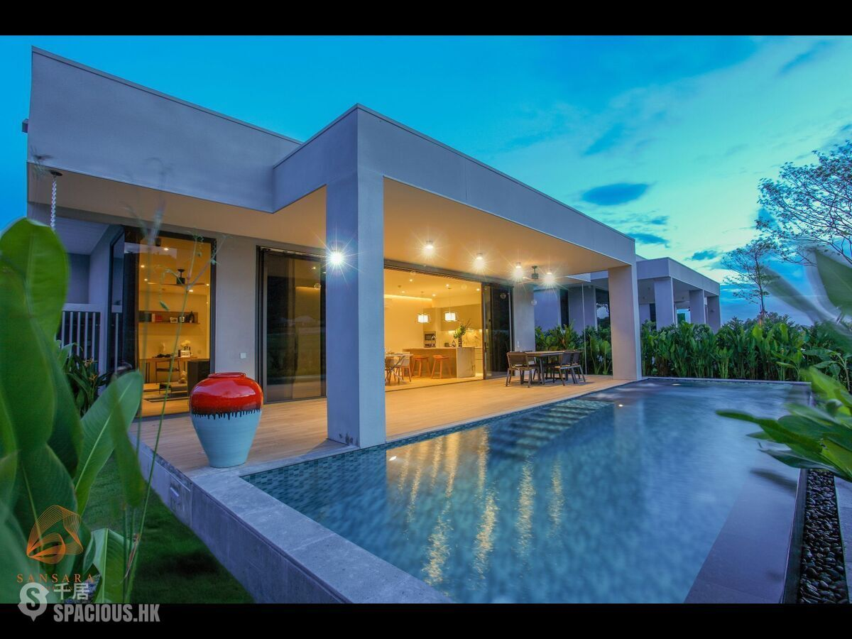 華欣 - State of Art Pool Villa on Black Mountain Golf 01