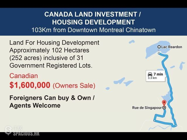Brownsburg-Chatham - Rue de Singapour, Development Land 06