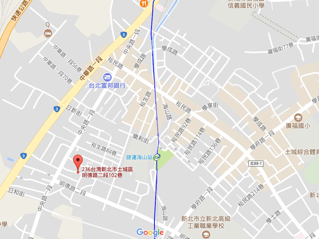 XX Lane 102, Section 2, Mingde Road, Tucheng, Taipei, Tucheng